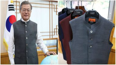 Moon Jae-in, The South Korean President, Thanks Narendra Modi for Sending Him 'Modi Jackets'