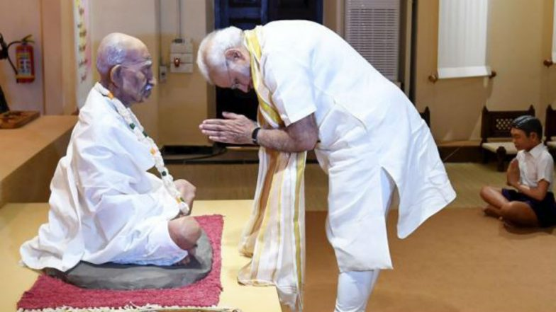 'Vaishnav Jan To' Goes Global on Gandhi Jayanti 2018, PM Narendra Modi Shares Video of Rendition by Artists From 124 Nations Including Pakistan
