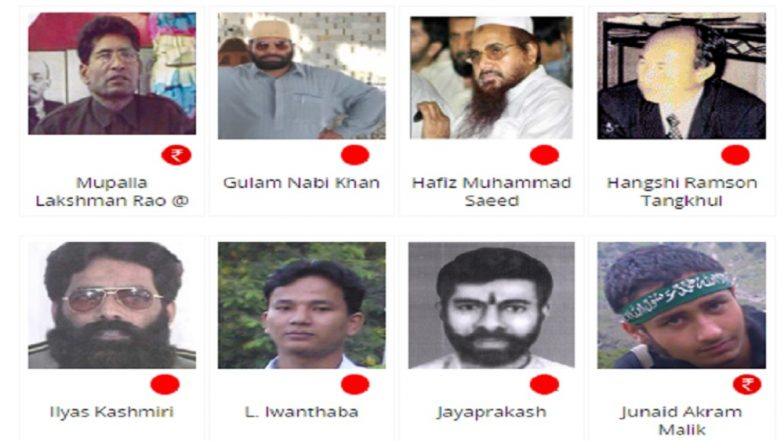 NIA Calls For Public Help to Locate Fugitives, List of 'Most Wanted' Includes Zakir Naik, Hafiz Saeed, Syed Salahuddin