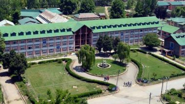 'Leave Kashmir' Advisory: Kashmir Universities Postpone All Exams Between August 5 and August 10 Citing Tensions in Valley