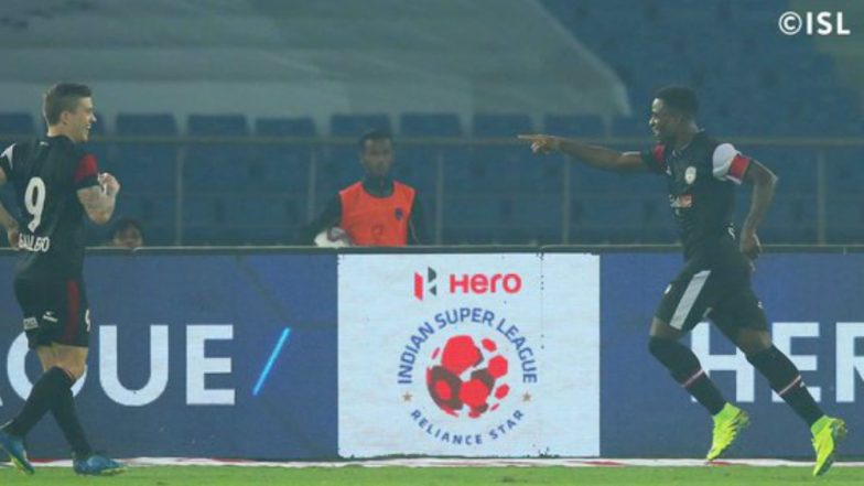 Delhi Dynamos vs NorthEast United FC, ISL 2018–19 Match Video Highlights: NorthEast United Defeats Delhi 2–0; Gets on Top of Points Table
