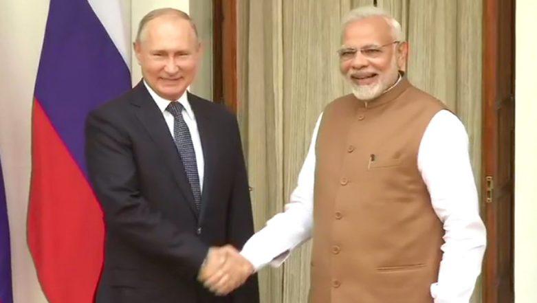 PM Narendra Modi Conferred With Russia'a Highest Civilian Award 'Order of St Andrew the Apostle'