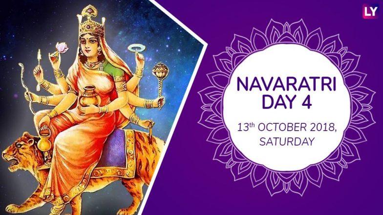 Navaratri 2018 Day 4 Kushmanda Puja: Worship The Fourth Form Of Goddess Durga With Mantras This Navratri