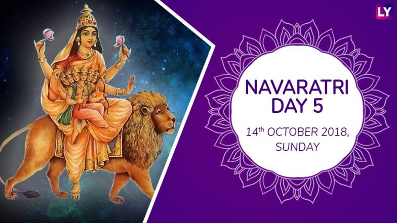 Navaratri 2018 Day 5 Skandamata Puja: Worship The Fifth Form Of Goddess Durga With Mantras This Navratri