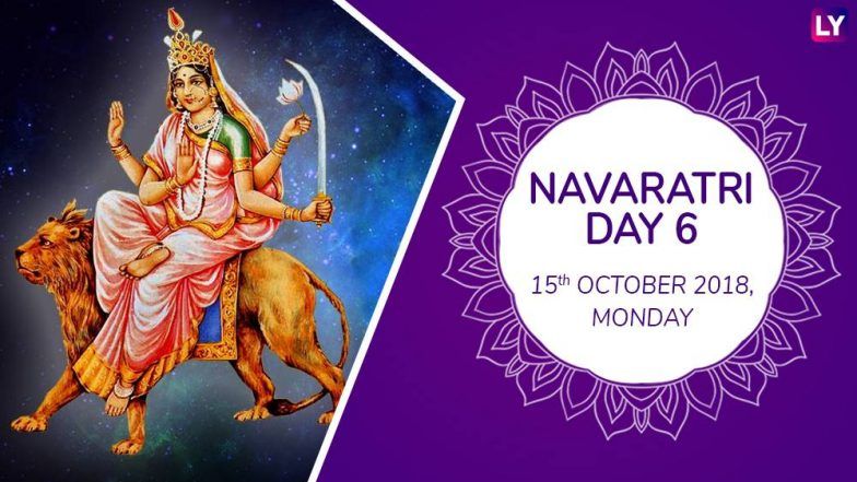 Navratri 2018 Day 6 Katyayani Puja: Worship the Sixth Form of Goddess Durga With Mantras This Navaratri