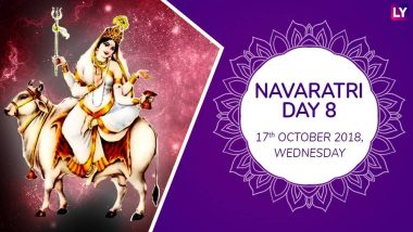 Navaratri 2018 Day 8 Mahagauri Puja: Worship The Eighth Form Of Goddess Durga With Mantras This Navratri