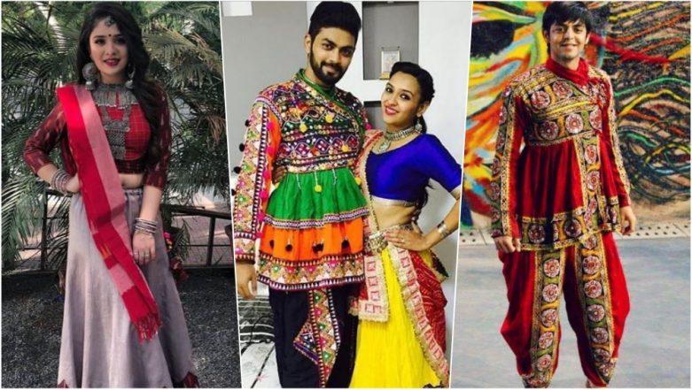 Navaratri 2018 Outfits for Garba Nights: From Lehenga Choli to Kediyu Dhoti, Step Out for Dandiya Nights in Your Best Traditional Avatar This Navratri Festival!