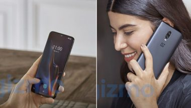 New OnePlus 6T Promo Images Leaked Ahead of October 29 Global Launch