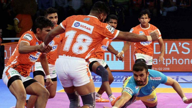 Puneri Paltan vs UP Yoddha, PKL 2018-19 Match Live Streaming and Telecast Details: When and Where To Watch Pro Kabaddi League Season 6 Match Online on Hotstar and TV?