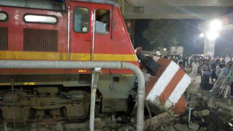 Mumbai-bound Pawan Express Train Hits Dead End at LTT Station; None Hurt