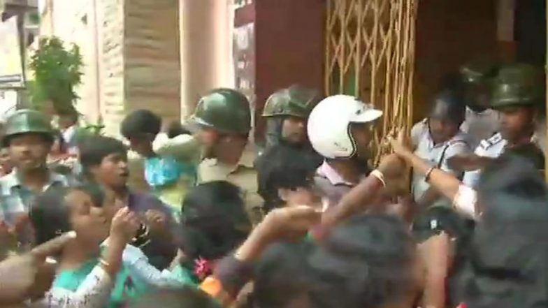 Kolkata: Minor Girl Student Sexually Assaulted by Teacher in School Premises, Accused Arrested After Protest