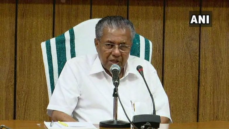 Sabarimala Stir a 'Deliberate' Attempt to Destroy Kerala's Unity, Secular Fabric, Says CM Pinarayi Vijayan