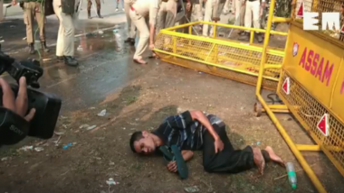 Assam Police Brutally Thrashes Differently Abled People in Guwahati; Watch Video