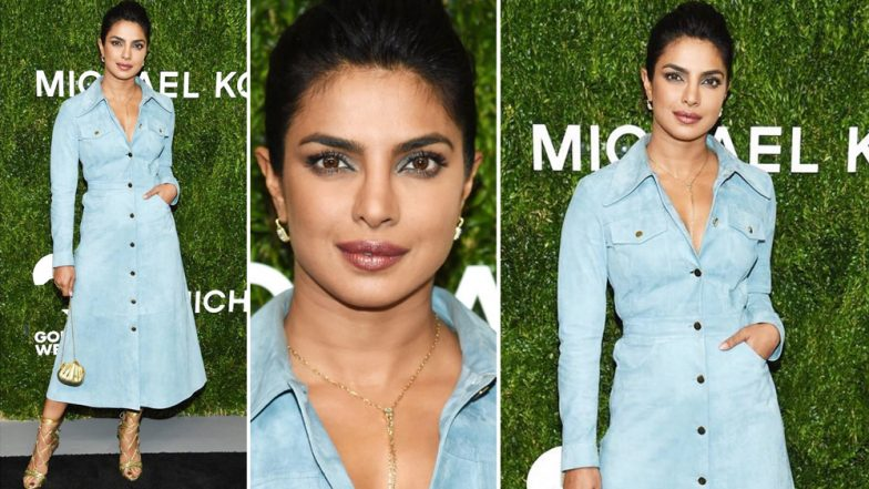 Priyanka Chopra Attends God's Love We Deliver Golden Heart Awards Looking As Desirable As Ever – View Pics