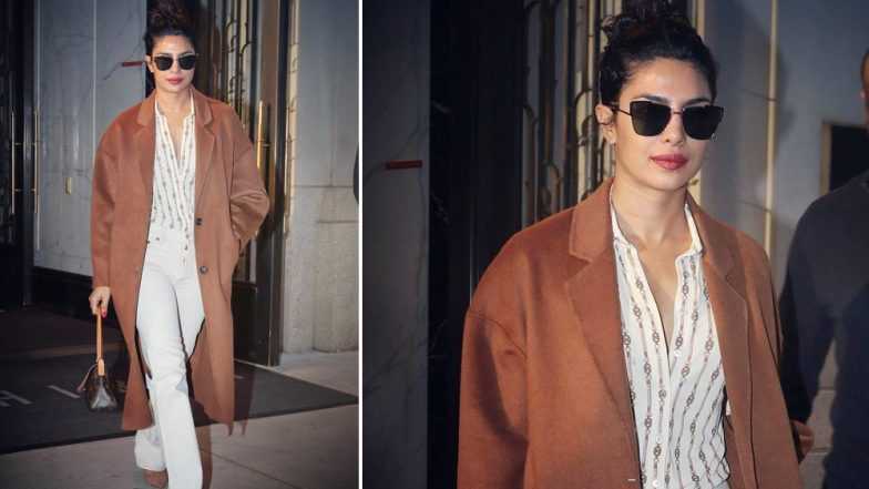 Priyanka Chopra Is Already Flaunting Her Uber Cool Winter Wardrobe on the Streets of New York - View Pics