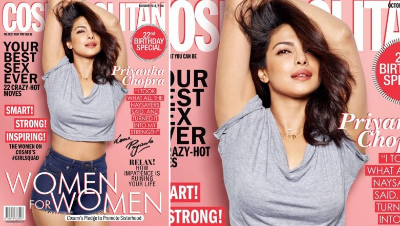 Priyanka Chopra Shines Bright but the Cover of Cosmopolitan India Is Too Ordinary for an Anniversary Issue