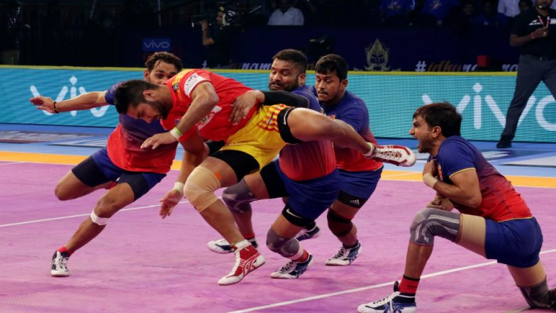 PKL 2018-19 Today's Kabaddi Matches: Schedule, Start Time, Live Streaming, Scores and Team Details of October 31 Encounters!