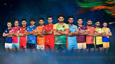 PKL Season 6 Points Table and Rankings: U Mumba Tops Zone A Tally; Bengaluru Bulls Wins Two in Two, Climbs to Second Spot in Zone B Standings