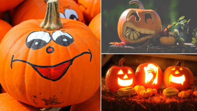 Halloween 2018 Pumpkin Decoration Ideas: Watch Videos to Make Crazy Creepy Jack O'Lanterns