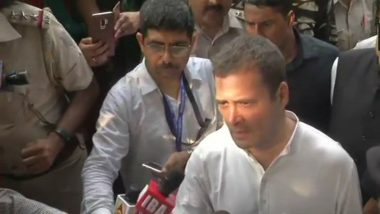Rahul Gandhi Detained During Congress Protest Against 'Removal' of CBI Chief Alok Verma, Released 20 Minutes Later