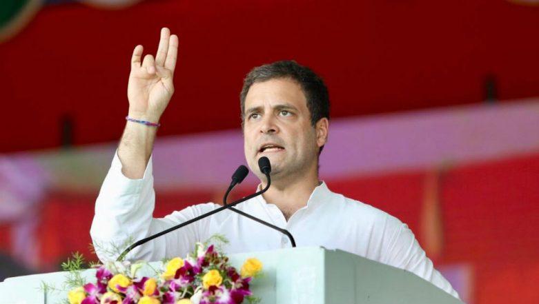 Lok Sabha Elections 2019: Rahul Gandhi Takes Pot Shot at BJP Govt, Says 'I, Unlike Narendra Modi, Don't Lie'