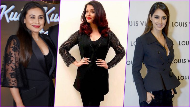 Aishwarya Rai Bachchan, Disha Patani and Rani Mukerji Make Black Pantsuit Look So Undesirable! Pick Your Worst-Dressed Celeb