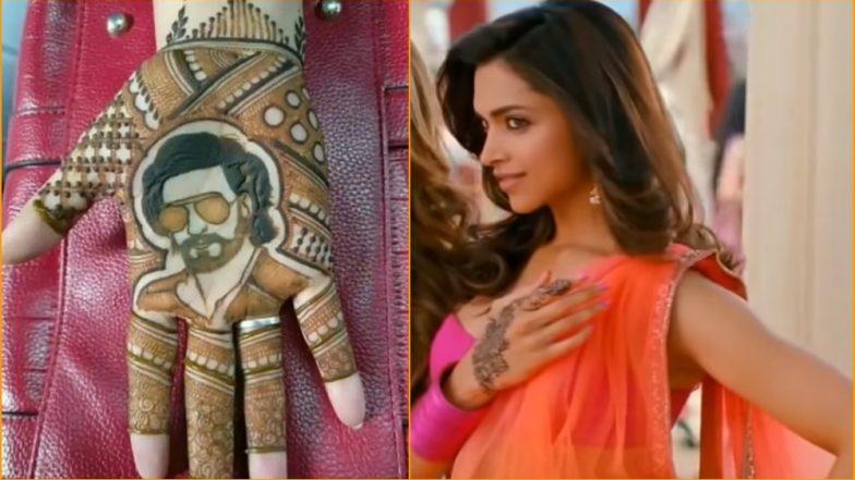 This Ranveer Singh-Mehndi Design for Karwa Chauth Will Make Deepika Padukone Both Blush and Laugh Out Loud!