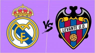 Real Madrid vs Levante Live Streaming Online: How to Get Spanish La Liga 2018–19 Match Live Telecast on TV & Free Football Score Updates in Indian Time?