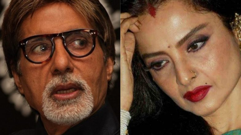 Rekha Denies Having 'A Personal Connection' With Amitabh Bachchan, but Admits Being 'Hopelessly in Love' With Him