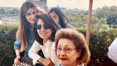 Raj Kapoor's Wife Krishna Raj Kapoor Passes Away; Granddaughter Riddhima Kapoor Sahani Shares A Heartfelt Message on Instagram