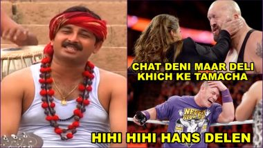 Rinkiya Ke Papa WWE Version Video Will Make You Thank Manoj Tiwari for This Wonderful Meme Material Song!