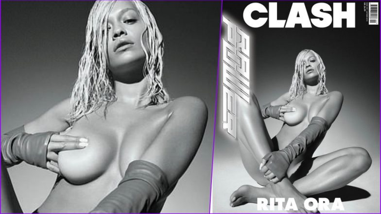 Rita Ora Strips NAKED for Clash Magazine: Singer-Actress Covering Nipples With Hands in This Sultry Photoshoot Is NSFW (See Pics)