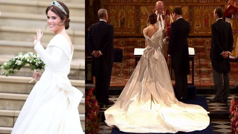 Royal Wedding Pictures and Videos: Princess Eugenie and Jack Brooksbank Exchange Vows in Front of Royal Family and Celebrity Guests