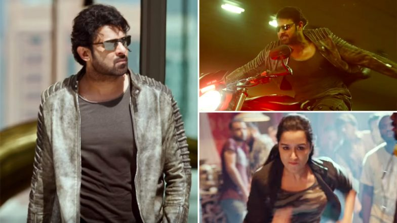 Shades Of Saaho: This Gripping BTS Video Starring Prabhas and Shraddha Kapoor Will Give You An Adrenaline Rush!