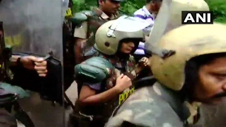 Sabarimala Temple Women's Entry: Two Female Devotees Make Failed Bid to Visit Shrine as Protests Continue