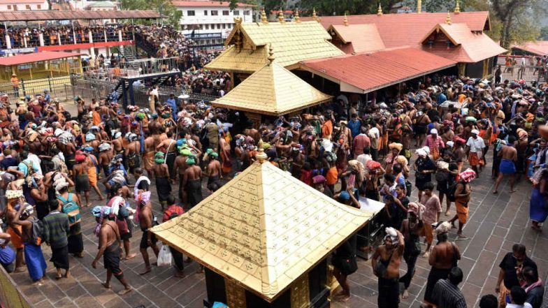 Sabarimala Temple Row: Security Beefed-up As Temple Opens For Special Puja Tomorrow