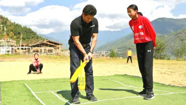 Sachin Tendulkar Visits Bhutan, Wishes Luck to Cricket Team and Shares a Beautiful Picture on Twitter!