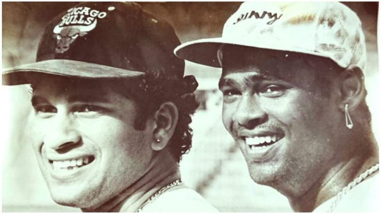 Sachin Tendulkar & Vinod Kambli To Reunite at 'Tendulkar Middlesex Global Academy'; Adds Another Chapter to Their Benevolent Friendship!