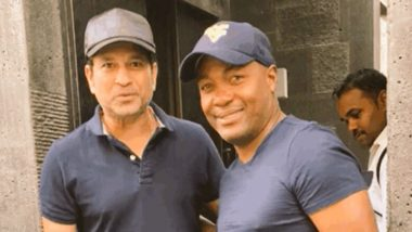 Sachin Tendulkar Welcomes Weekend With Brian Lara! Master Blaster Having #FridayFun With His Carribean Friend, Shares Pic