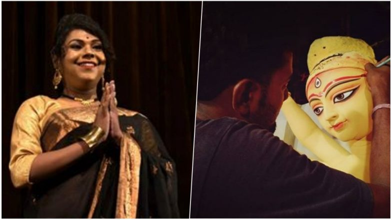 Transgender Lawyer From Kolkata to Paint Eyes on the Idol of Durga Maa 'Chakshu Daan' for Durga Puja 2018