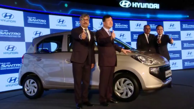 LIVE News Updates: 2018 Hyundai Santro Launched in India at Rs 3.89 Lakh; Images, Features & Specifications