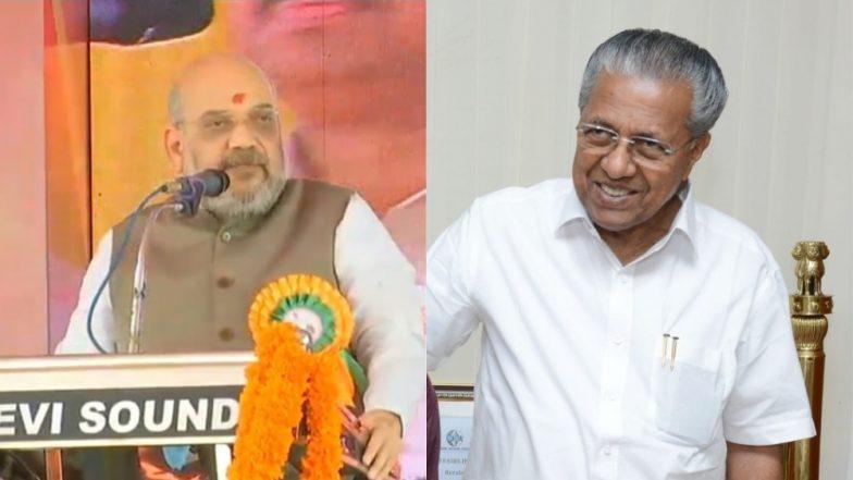 Pinarayi Vijayan Terms Amit Shah's Push For Hindi as 'War Cry' Against Non-Hindi Speakers