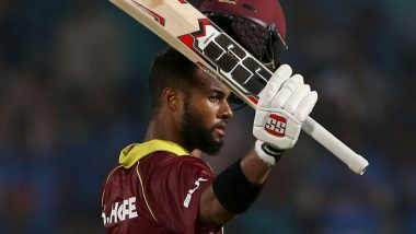 Shai Hope Surpasses Babar Azam to Become Fastest Batsman to Score 1000 ODI Runs in Asia, Achieves Feat During Sri Lanka vs West Indies 1st ODI 2020