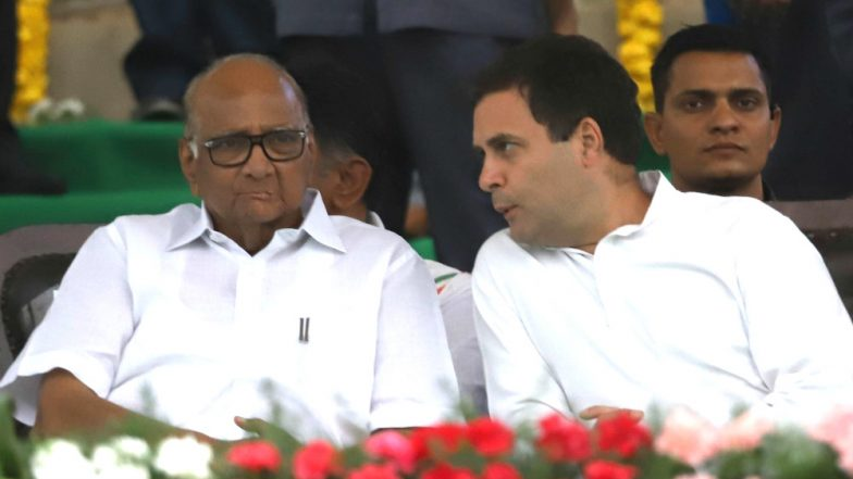 Maharashtra Assembly Elections 2019: Congress, NCP Further Seat-Sharing Talks, Unlikely to Accommodate Bahujan Vanchit Aghadi