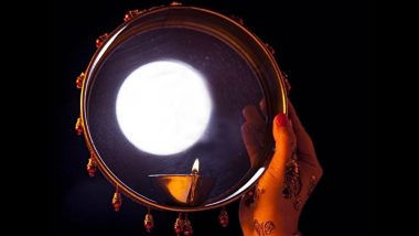 Karwa Chauth Vrat 2018: Know The Reason Why Women Look at the Moon Through a Sieve During Karva Chauth Puja