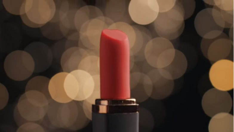 Sex Toy For Long-Distance Lovers! Lipstick-Shaped Device With AI Can Chat in Sultry Voice and Send Sexy Messages, Watch Video