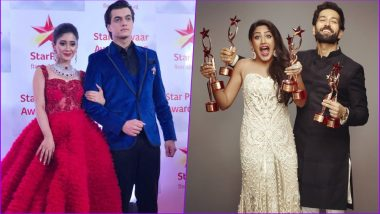 Star Parivaar Awards 2018 Winners in Pics: Nakuul Mehta-Surbhi Chandna of Ishqbaaz, Shivangi Joshi-Mohsin Khan of YRKKH Steal the Show (Watch Videos)
