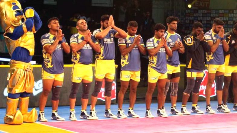 Telugu Titans vs Tamil Thalaivas, PKL 2019 Match Free Live Streaming and Telecast Details: Watch HYD vs TAM, VIVO Pro Kabaddi League Season 7 Clash Online on Hotstar and Star Sports