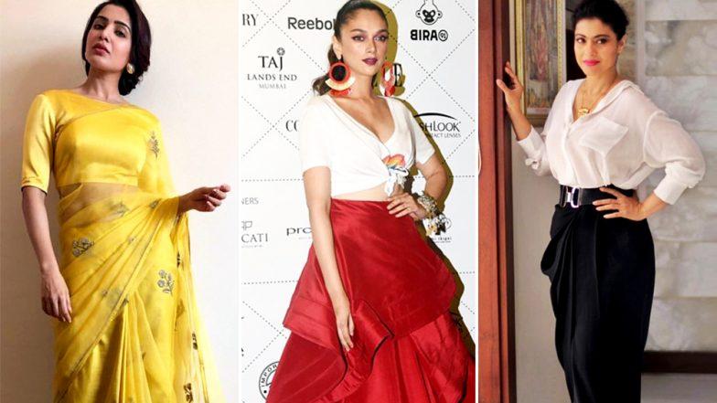 Style Diaries of This Week: Samantha Ruth Prabhu, Kajol Best-Dressed and Aditi Rao Hydari Worst-Dressed