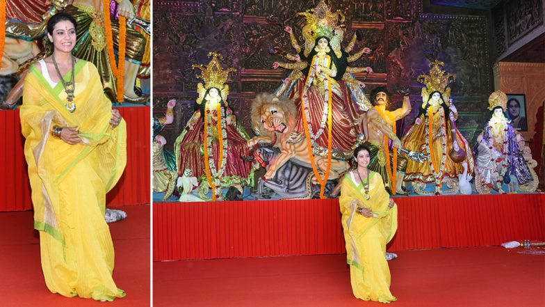 Durga Puja 2018: Kajol, Ayan Mukerji, Sumona Chakravarti Grace Mumbai's Oldest Pandal North Bombay Sarbojanin Durga Puja Samiti, View Pictures
